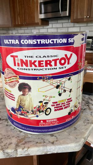 The Classic Tinkertoy Construction Set for Sale in Roswell, GA