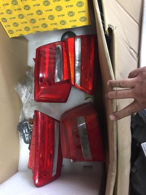 audi a6 headlights and tail lamps complete set oem like new for Sale in Opa-locka, FL