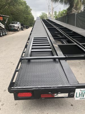 2017 Big Tex 20AC 3/4 car wedge trailer. (Price reduced) for Sale in Miramar, FL