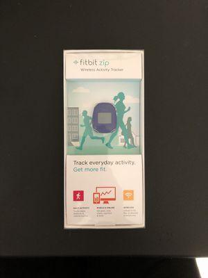OPEN BOX - fitbit zip - Wireless Activity Tracker - Blue for Sale in Carlsbad, CA