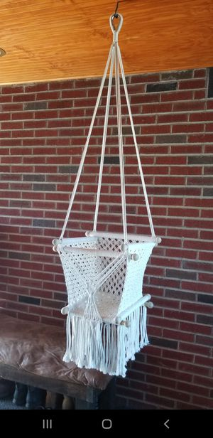 Macrame baby swing for Sale in Lewisburg, PA