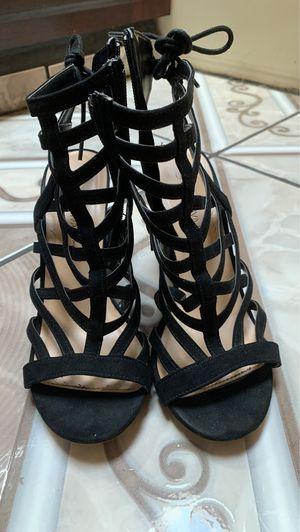 Wild Diva black high heels (size: 7 ) for Sale in Cornelius, OR