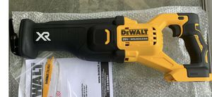 New DeWalt Max XR 20V DCS368 Brushless Reciprocating saw for Sale in Visalia, CA