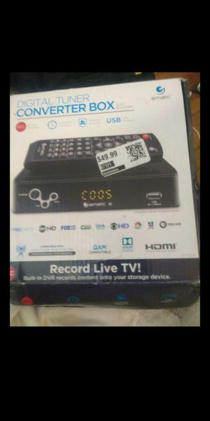 Ematic digital converter box with record live tv for Sale in El Monte, CA