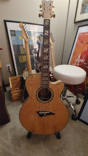 Dean PE-QA-GN Electric Acoustic for Sale in Lambertville, MI