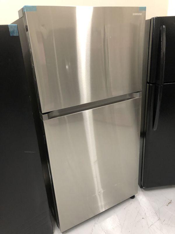Brand New Fridge Stainless Steel Top Freezer Refrigerator w/ Warranty 😀 Select Appliance