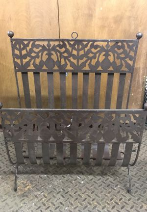 Decorative Metal Rack for Sale in Portland, OR