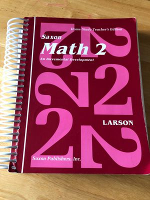 Saxon Math 2 Home Study Teacher's Edition for Sale in Seattle, WA