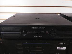 American Audio VLP1500 Pro Power Amplifier for Sale in Phoenix, AZ