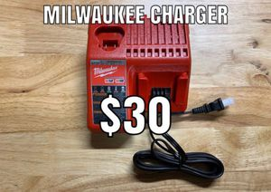 Milwaukee charger for Sale in Azusa, CA