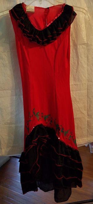 La Senorita Rosa Spanish dancer costume for Sale in Ontario, CA