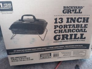Brand new portable charcoal grill 13 inch for Sale in Stuart, FL