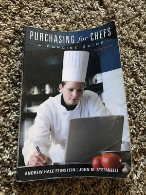 Purchasing for chefs by Andrew hale Feinstein for Sale in Aurora, CO