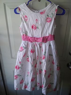 Girls size 12 Flowered Dress ($3) for Sale in St. Louis, MO