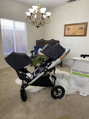 BEAND NEW IN BOXES 2019 CITY SELECT DOUBLE STROLLER NO LOW OFERS THIS IS A GREAT DEAL MESAGE ME ONLY IF YOU READY TO PICK IT UP THANK YOU for Sale in Los Angeles, CA