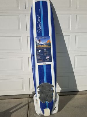 8ft foam soft wavestorm surfboard new in plastic for Sale in Moreno Valley, CA