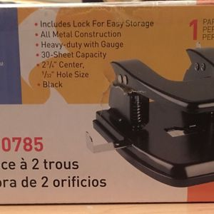 2 Hole Punch - Heavy Duty Puncher for Sale in Fairfax Station, VA