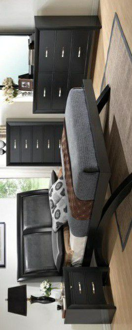 🍃the price is nice🍃Galinda Black Arch Platform Bedroom Set for Sale in Jessup, MD