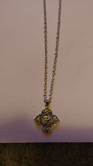 Buddist chain and charm for Sale in Pittsburgh, PA