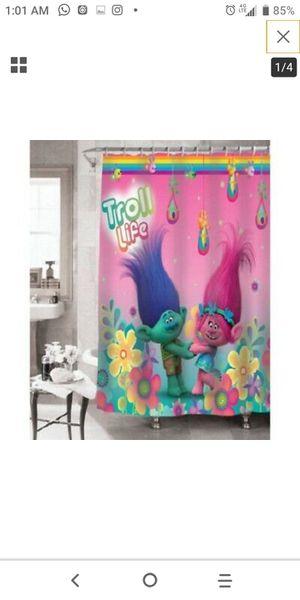 Trolls shower curtain for Sale in ROXBURY CROSSING, MA