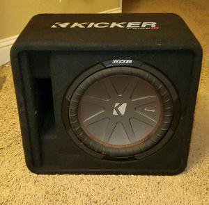 """Kicker Comp R 12"""" & 500 watt amp for Sale in Lincoln, CA"""