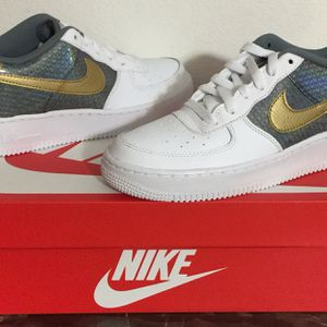 NIKE AIR FORCE ONES SIZE 7Y $50 FIRM for Sale in Poinciana, FL