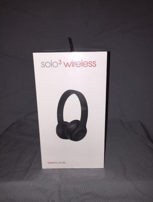 Brand New, Unopened Beats Solo3 Wireless Black color for Sale in Washington, DC