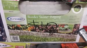 1 box of border stone edging for Sale in NC, US
