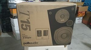 Polk audio T15 speakers - brand new in box for Sale in Albuquerque, NM