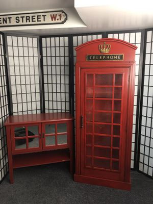 British Theme Furniture and Accessories Set for Sale in Glen Burnie, MD