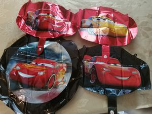 4pc 18 in foil balloons McQueen for Sale in Greer, SC