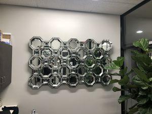 Wall mount mirror octagon for Sale in Dallas, TX