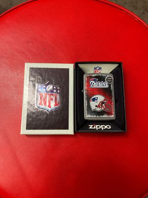 NFL Patriots zippo for Sale in North Las Vegas, NV