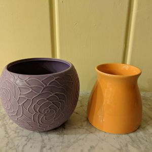 Two Ceramic Vases/ Flower Pots for Sale in Simi Valley, CA