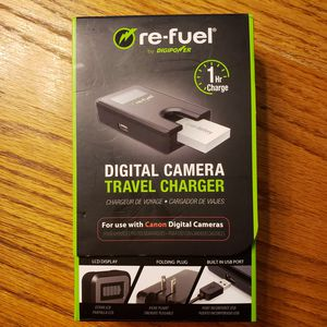 Re-fuel by DIGIPOWER Digital Camera Travel Charger for CANON Camera for Sale in Orange Park, FL