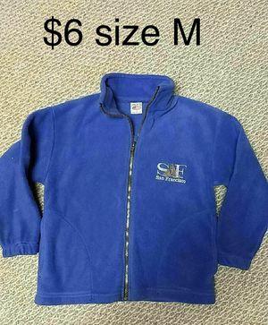Girls Fleece Jacket M for Sale in Roscoe, IL