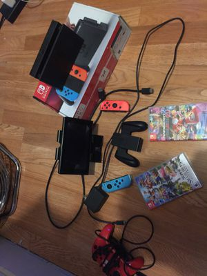 Nintendo Switch plus 2 games for Sale in Los Angeles, CA