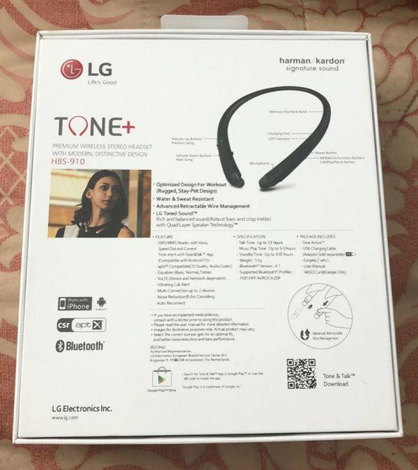 LG HBS910 TONE + WIRELESS HEADPHONE