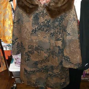 Fabulous Vintage Wool Mink Coat for Sale in Brooklyn, NY