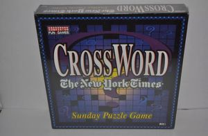"""BRAND NEW """"The New York Times"""" Sunday Puzzle Game *SEALED* Table Top Board Game for Sale in Miami, FL"""