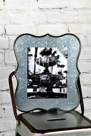 New, 8x10 Fountain Print, B&W, Metal Frame for Sale in Murfreesboro, TN