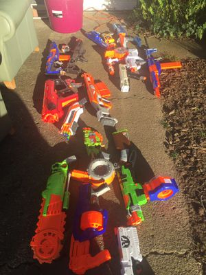 Nerf guns, prices in the photos for Sale in Novato, CA