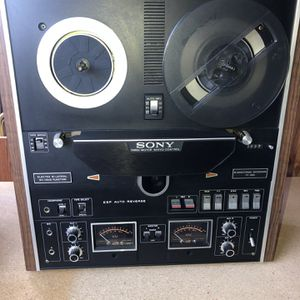 Sony Reel To Reel Tape Recorder TC-580 With Plastic Front Cover for Sale in San Diego, CA