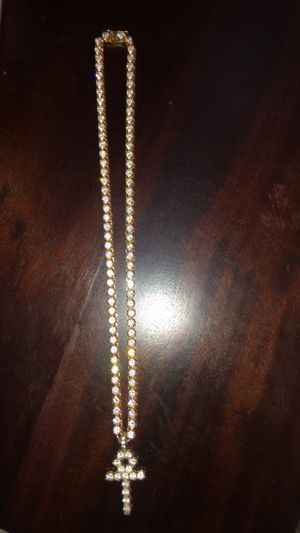 GOLD GODS TENNIS CHAIN for Sale in Clackamas, OR