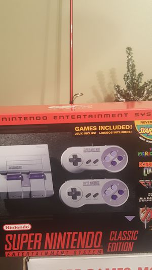 Super Nintendo Classic Edition for Sale in Coral Springs, FL