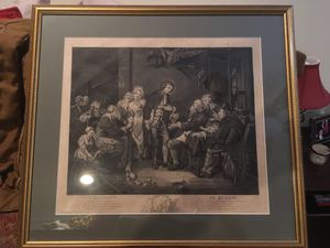 1800s matted and framed French print for Sale in Washington, DC