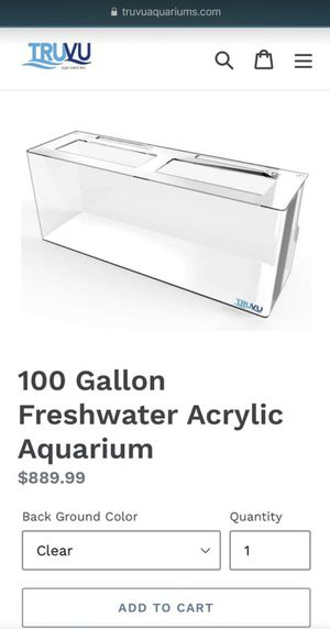 100 gallon Acrylic Aquarium including filter pumps. for Sale in San Juan Capistrano, CA