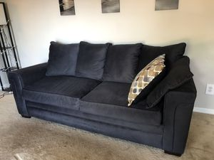 Comfy Charcoal Couch for Sale in Bradenton, FL