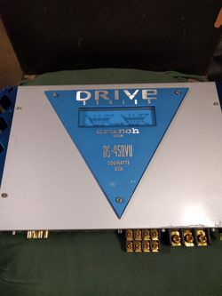 Drive Series Crunch Car Amplifier 200 W 4 Channel for Sale in Brecksville,  OH