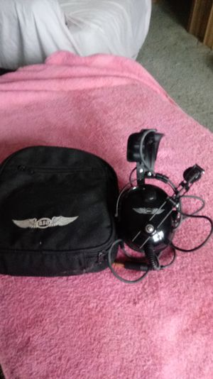 ASA Pilot Head Phones with Case make a Offer for Sale in Springville, AL